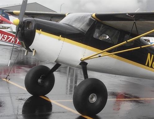 8 50 tire install 337 - Cessna 120-140 Association